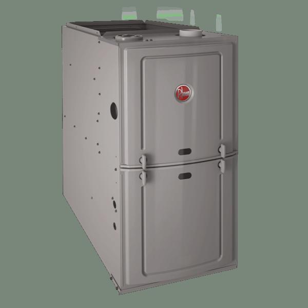 Rheem R802P Upflow/Horizontal gas furnace.