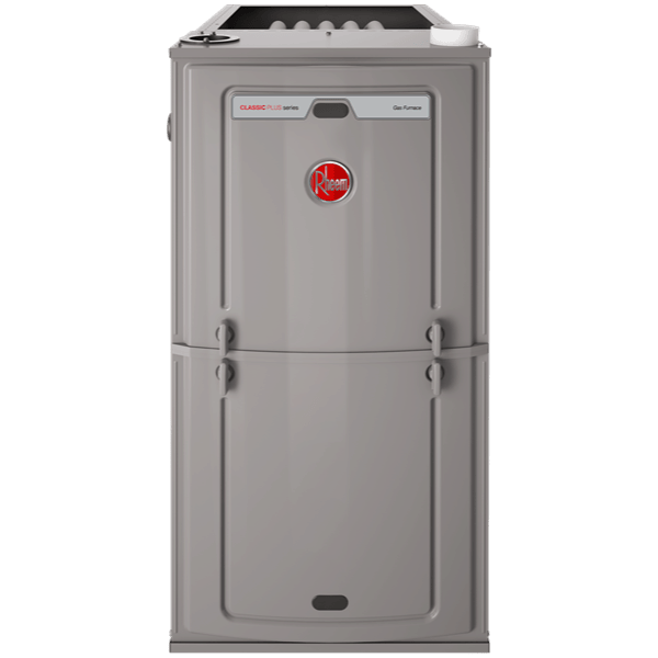 Rheem R96T gas furnace.