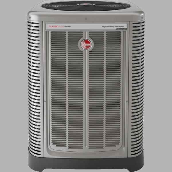 Rheem RP17 heat pump.