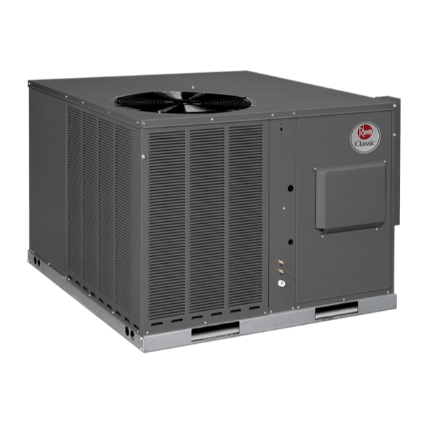 Rheem RQPW packaged unit.