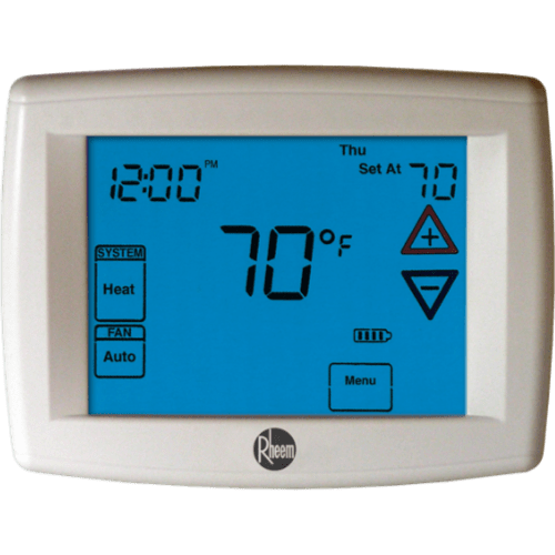 Rheem 400 series thermostat.