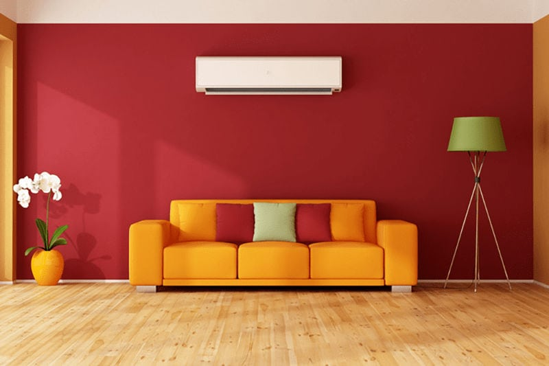 Ductless AC in Living Room