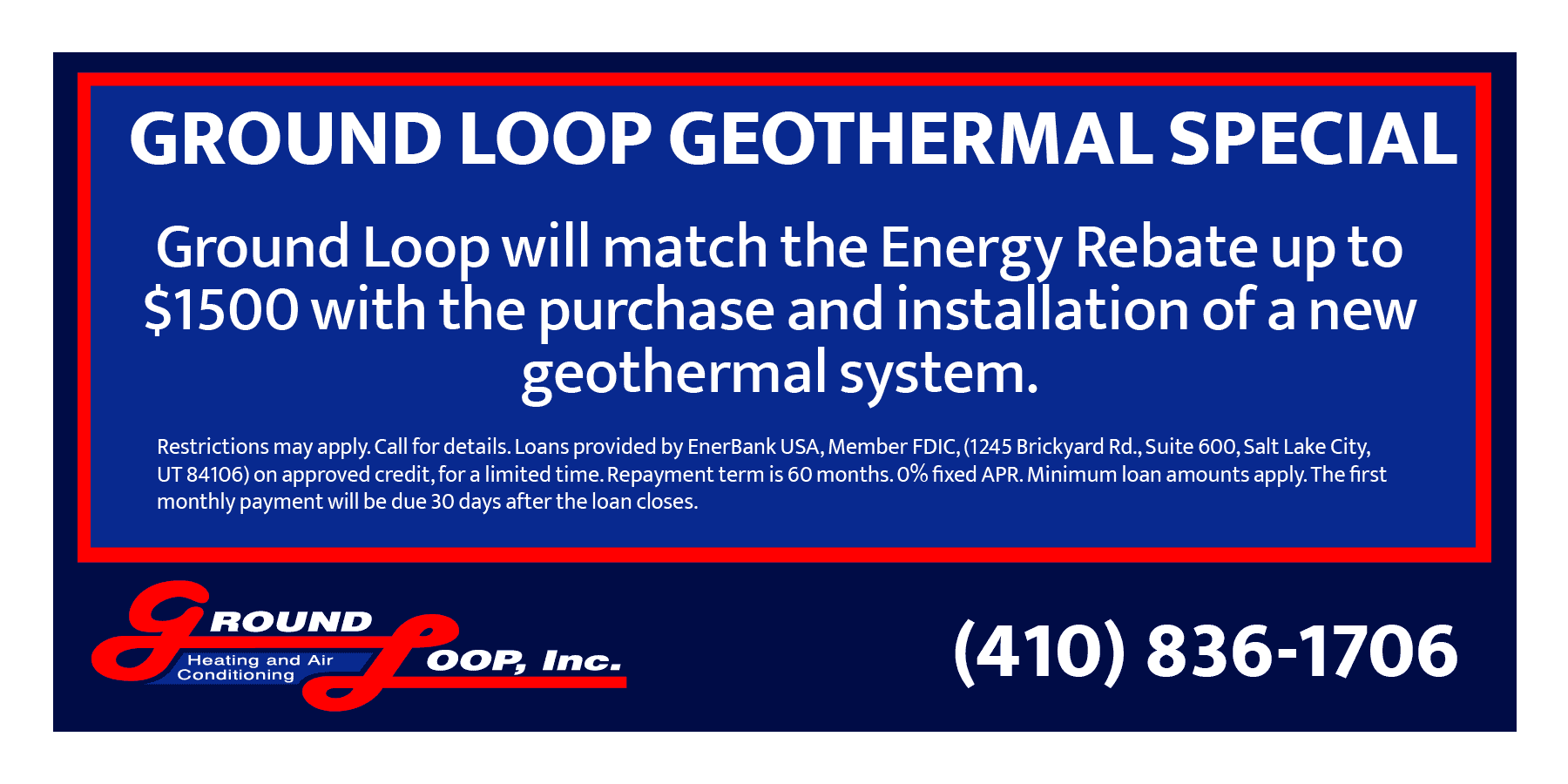 Ground Loop Special Offer