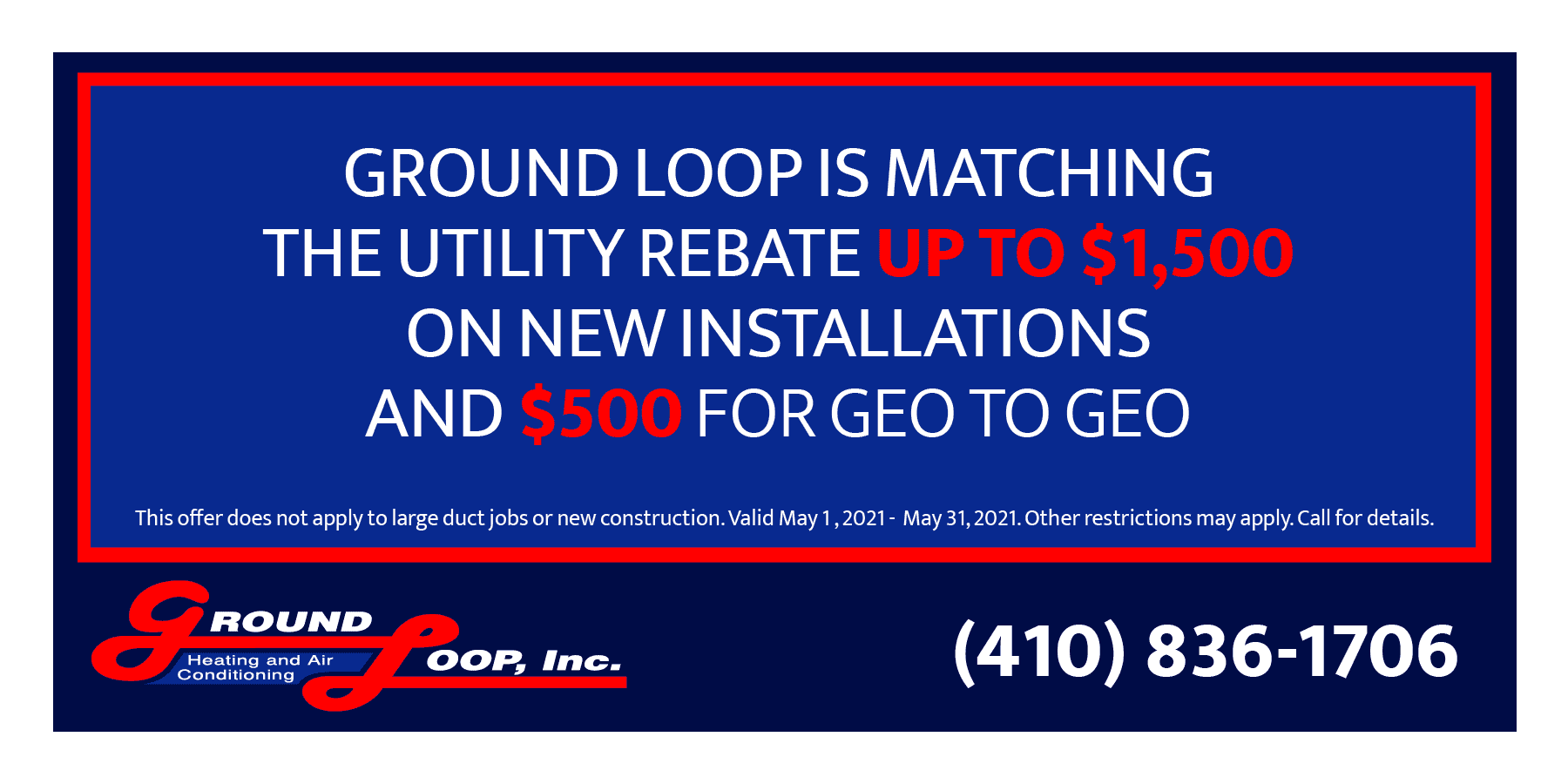 Ground Loop May special